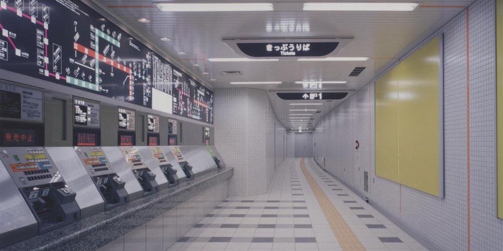 東西線二条駅