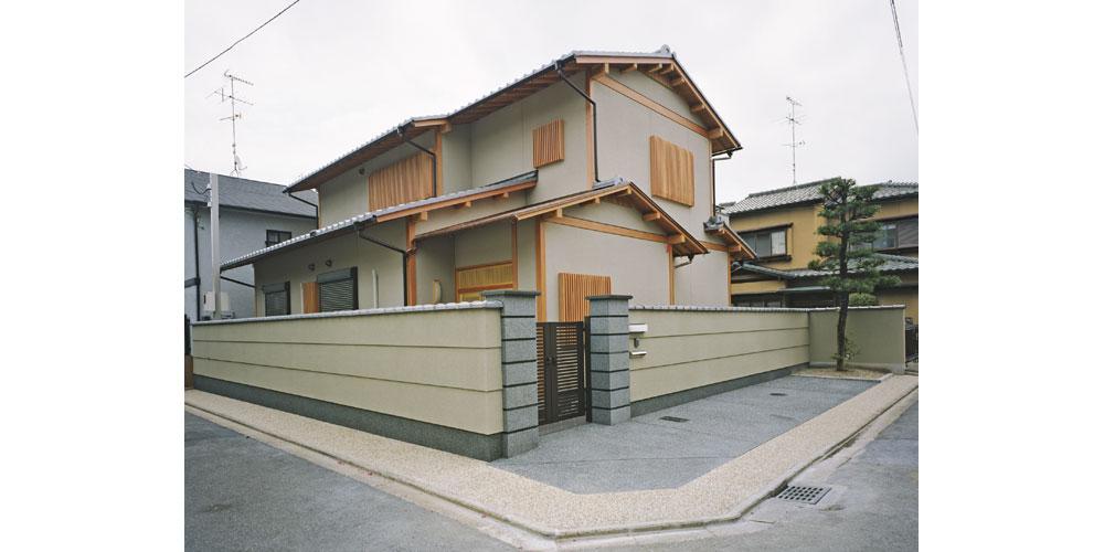 竜安寺の家