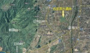 吉武高木遺跡周辺地図