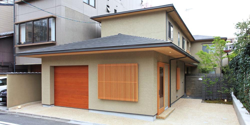 中京区の家 新築工事